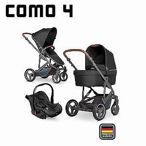 ABC Designer Carrinho De Bebe Como 4 Cor Woven Black (Preto) + Bebê Conforto Risus Piano 1200063/101297804
