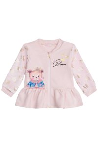 Infanti Conjunto Calca Infantil Feminino Manga Longa 40963 Cor Rosa Claro