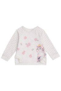 Infanti Conjunto Calca Infantil Feminino Manga Longa 41085 Cor Creme