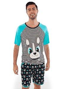 Puket Pijama 030602167 Cor Verde