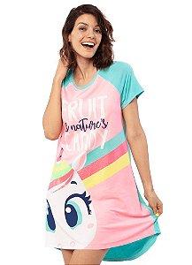 Puket Pijama Inf Femin 030602193 Cor Rosa