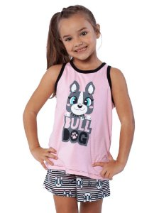 Puket Pijama 030501571 Cor Rosa