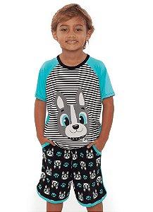 Puket Pijama 030402038 Cor Verde