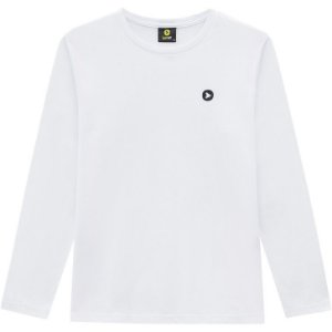 Lemon Camiseta Malha Masc Ml 80.900 Cor Branco