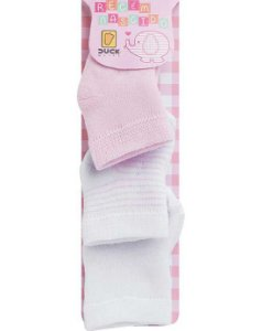 Duck Kit Meias Bebe 2599 Cor Rosa