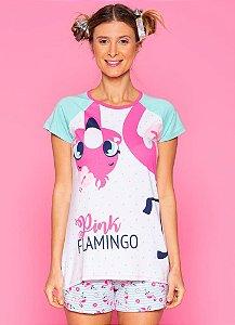 Puket Pijama Inf Femin 030601998 Cor Flamingo
