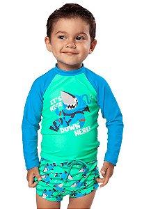 Puket Camiseta Para Nadar 110200216 Cor Verde Limao