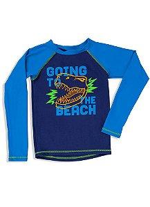 Puket Camiseta Para Nadar 110500317 Cor Azul