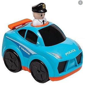 Buba Baby Carro Policia Infantil 7969 Cor Carros