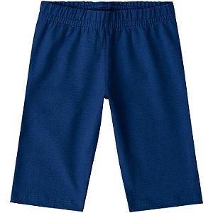 Kyly Bermuda Inf Fem Cotton 106315 Cor Azul Marinho