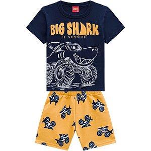 Kyly Conjunto Infantil Masculino 110278 Cor Azul Marinho
