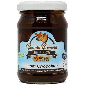 Cocada Cremosa com Chocolate Diet Sem Adição de Açúcar 200g