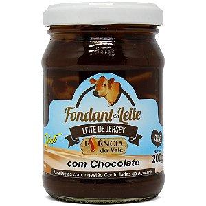 Fondant de Leite com Chocolate Diet Sem Adição de Açúcar 200g