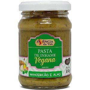 Pasta Vegana de Manjericão e Alho Essência do Vale 160g