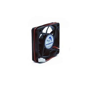 Micro ventilador DC Fan 60x60x15mm 12V Alta Rotação Sleeve/Bucha | Botto Brazil