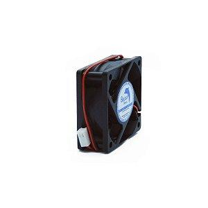 Micro ventilador DC Fan 60x60x25mm 12V Alta Rotação Sleeve/Bucha | Botto Brazil