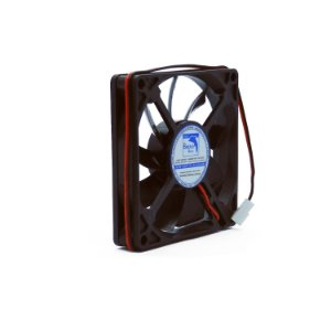 Micro ventilador DC Fan 80x80x15mm 12V Silencioso Baixa Rotação Sleeve/Bucha | Botto Brazil