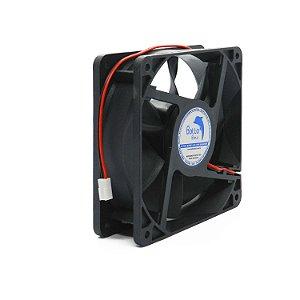 Micro ventilador DC Fan 120x120x38mm 48V Alta Rotação Sleeve/Bucha | Botto Brazil