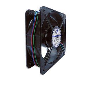 Micro ventilador AC Fan 180x180x60mm Bivolt 110/220V Alta Rotação Ball/Rolamento | Botto Brazil