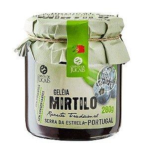 Geleia Mirtilo sem açúcar Quinta dos Jugais 280g