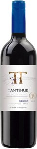 Vinho tinto Merlot Tantehue