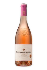 Vinho rosé Baron D'Arignac