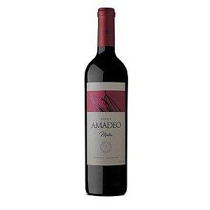 Vinho tinto Malbec Amadeo