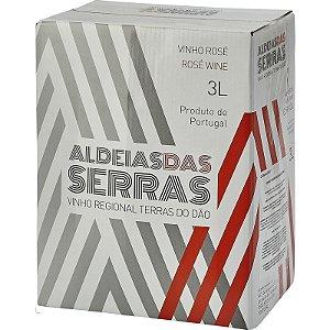 Vinho Rosé Aldeias das Serras Regional Dão Bag in Box 3l