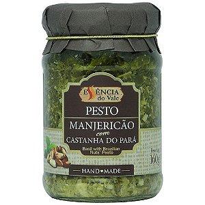 Pesto de Manjericão com Castanha do Pará 160g Essência do Vale