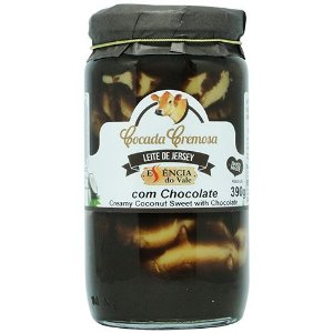 Cocada Cremosa com Chocolate 390g Essência do Vale