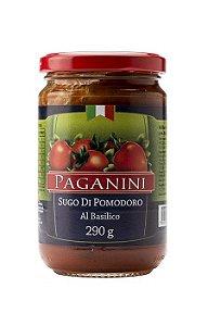 Molho de Tomate Al Basílico (Manjericão) 290g Paganini