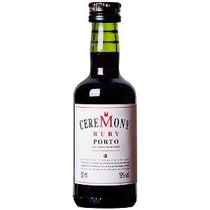 Vinho do Porto Ceremony Ruby 50ml miniatura