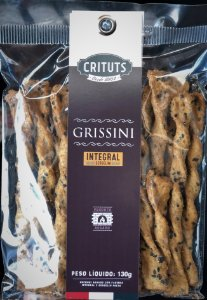 Grissini Artesanal Integral 130g Crituts