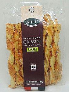 Grissini Artesanal Cebola 130g Crituts