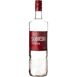 Vodka Sobieski 1l Polônia