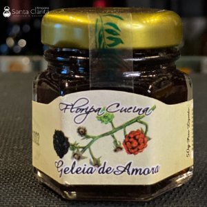 Mini Geleia Artesanal de Amora 50g Floripa Cuccina