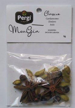 Especiarias para Gin Clássico