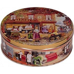 Lata Biscoitos Amanteigados Baker Shop 400g Jacobsens