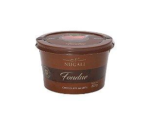 Fondue Chocolate ao Leite 45% Cacau 200g Nugali