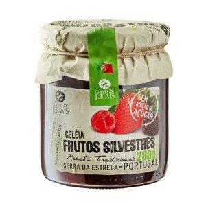 Geleia de Frutos Silvestres 280g sem açúcar Quinta dos Jugais
