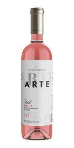Vinho Rosé Arte 4 Gewurztraminer e Malbec Casa Valduga