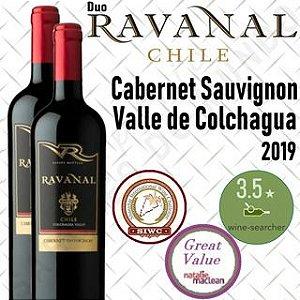 Vinho tinto Cabernet Sauvignon Ravanal