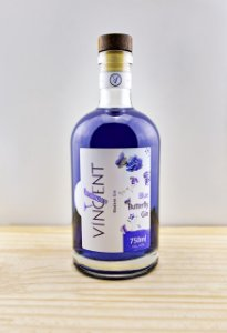 Gin Blue Butterfly 750ml Vincent Destilaria