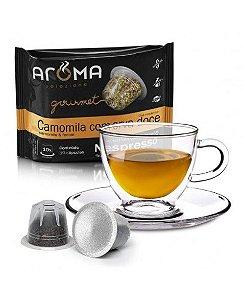 Chá de Camomila com Erva Doce 10 cápsulas Aroma