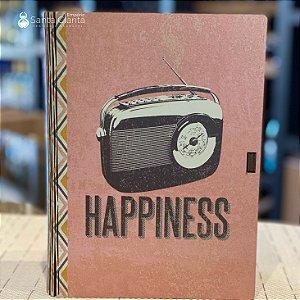 Caixa Livro Porta Objetos 16,5x23 Hapiness Ideias Ideias