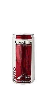 Vinho tinto Cabernet/Merlot em lata 269ml Giaretta