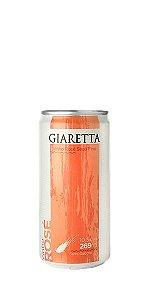 Vinho Rosé lata 269ml Giaretta