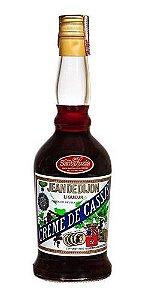 Licor francês Jean de Dijon Creme de Cassis 700ml