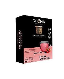 Chá de Frutas Vermelhas 10 cápsulas Aroma