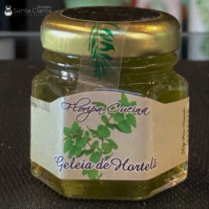 Mini Geleia Artesanal de Hortelã 50g Floripa Cuccina